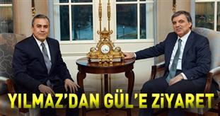 EPDK Başkanı Yılmaz Cumhurbaşkanı Abdullah Gül'ü Çankaya Köşkü'nde ziyaret etti.