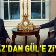 Yılmaz'dan Gül'e ziyaret